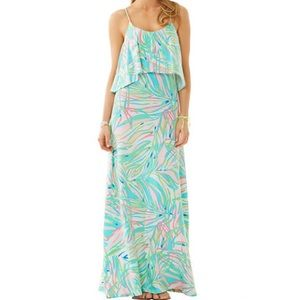 Lilly Pulitzer Harrington Maxi Dress, Salute
